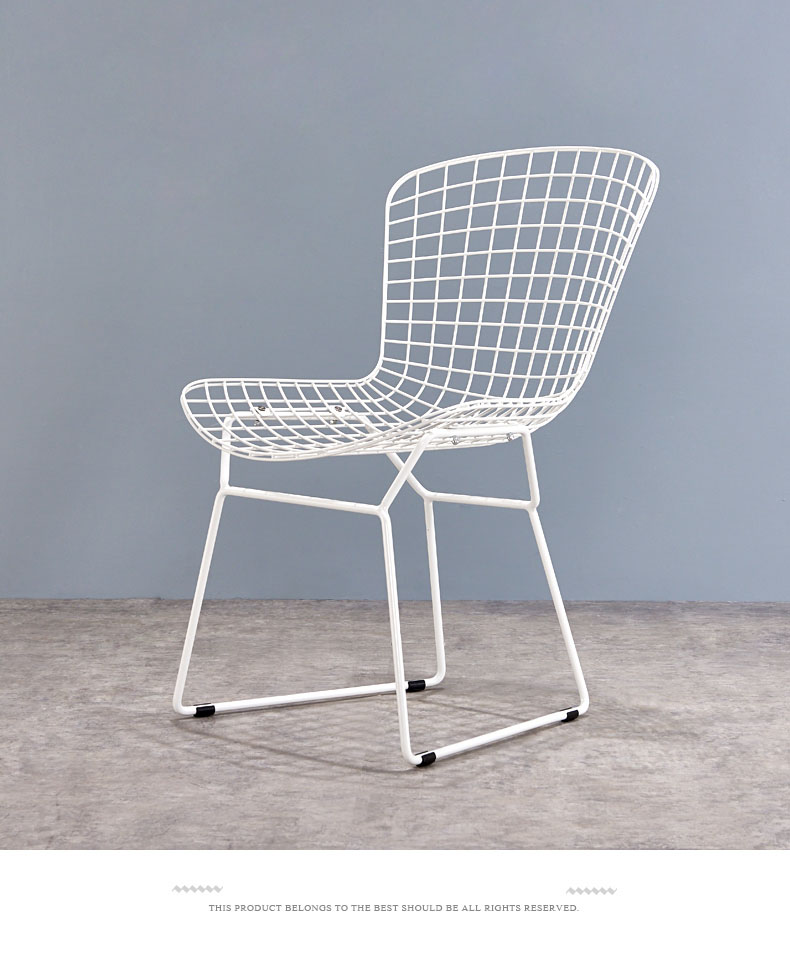white metal chairs