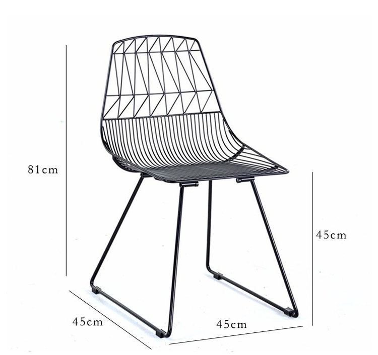 metal leg dining chairs