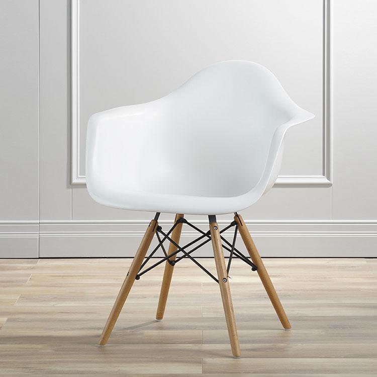 white plastic chairs