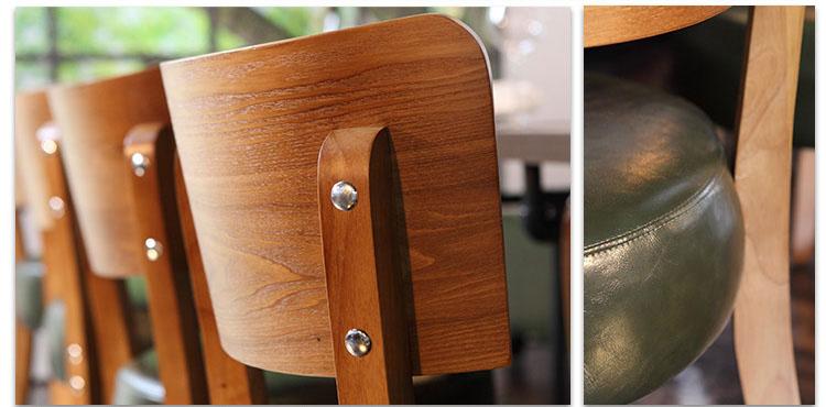 wooden restaurant furniture