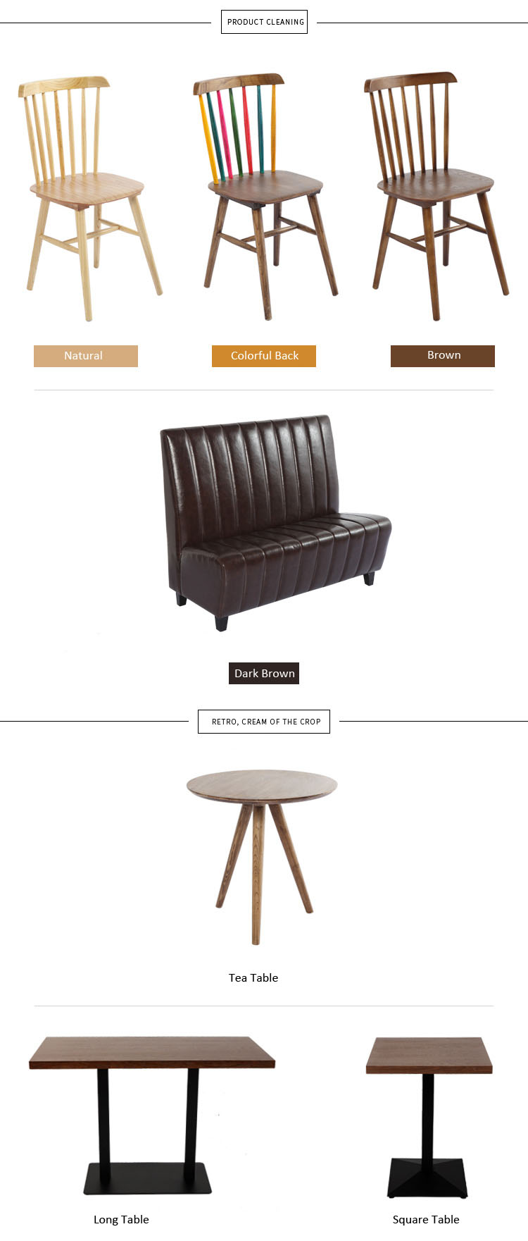 restaurant tables & chairs for sale
