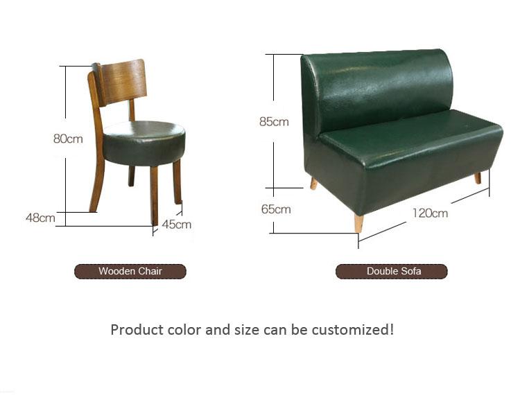 green restaurant furniture