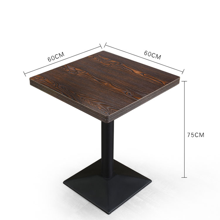 restaurant wood table tops sale