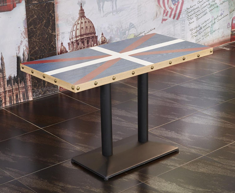 metal restaurant tables