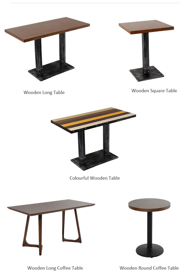 restaurant table cost