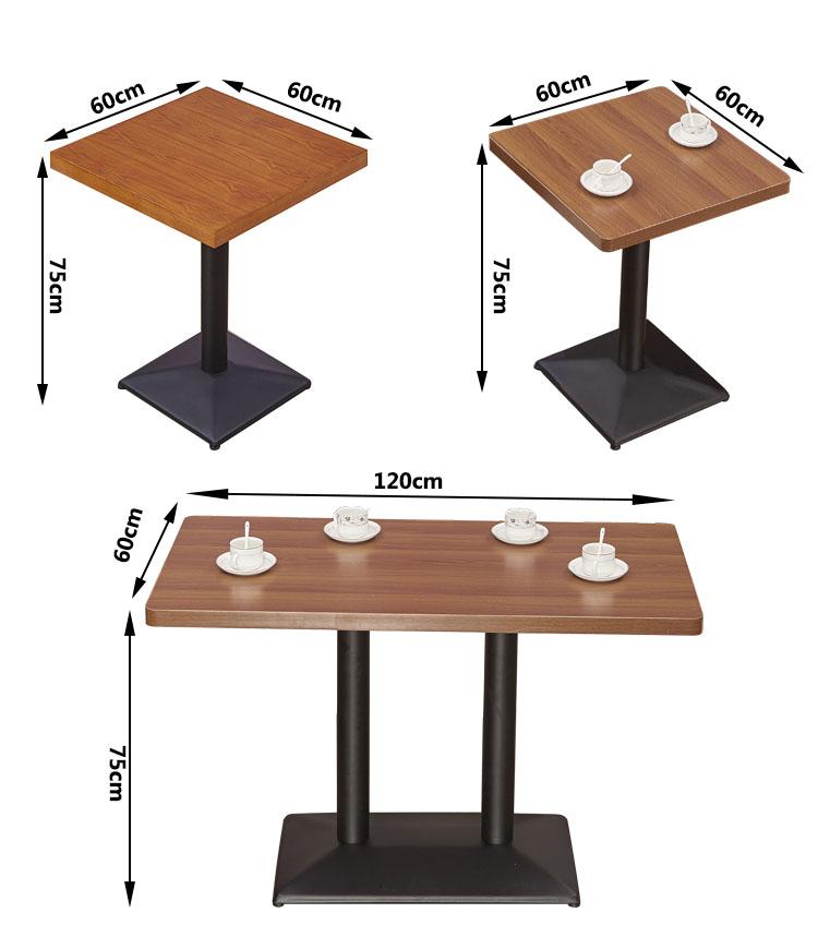 rectangle restaurant tables