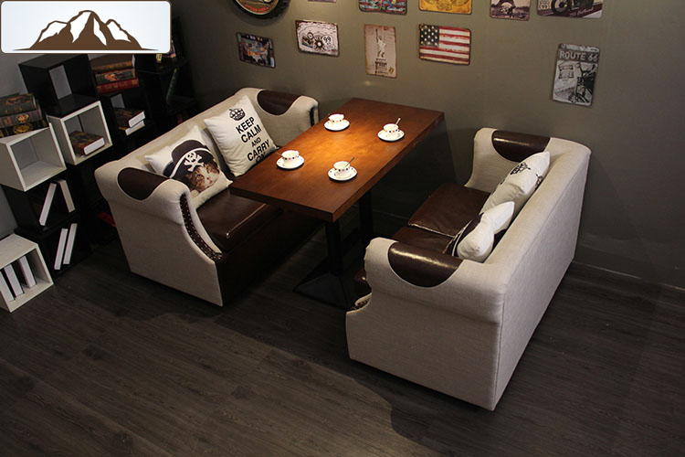 dining table with banquette seating