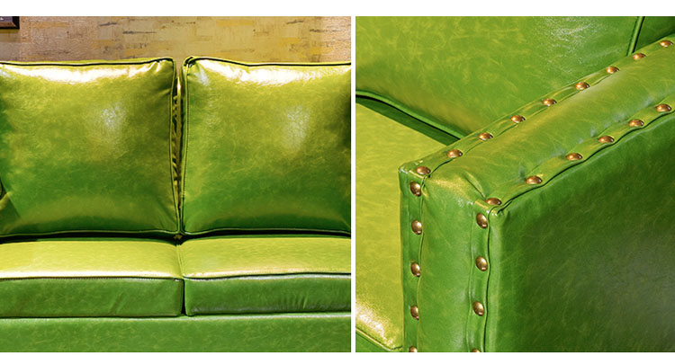 leather dining sofa