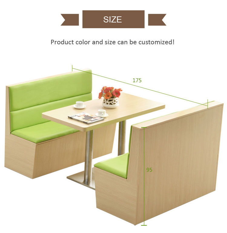 restaurant booth table