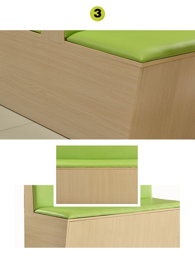 corner booth seating