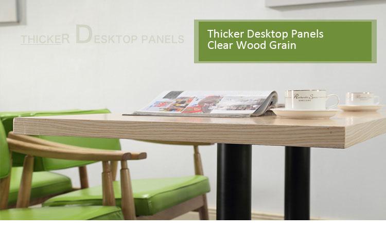 rustic wood restaurant table tops