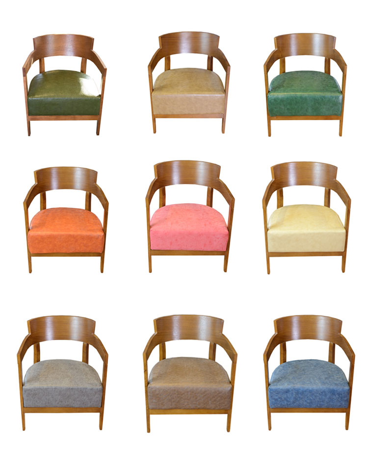 colorful restaurant chairs