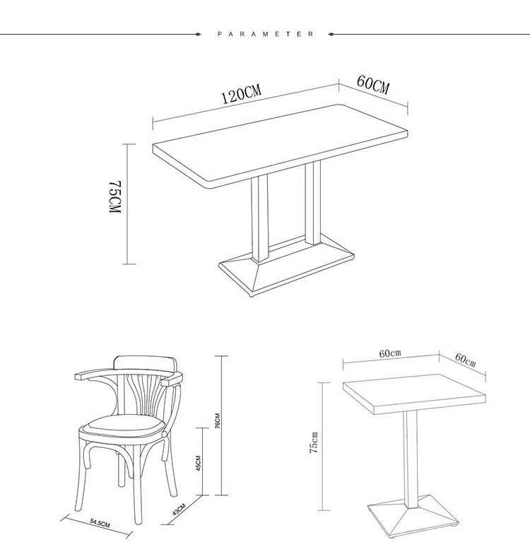 commercial bistro tables and chairs
