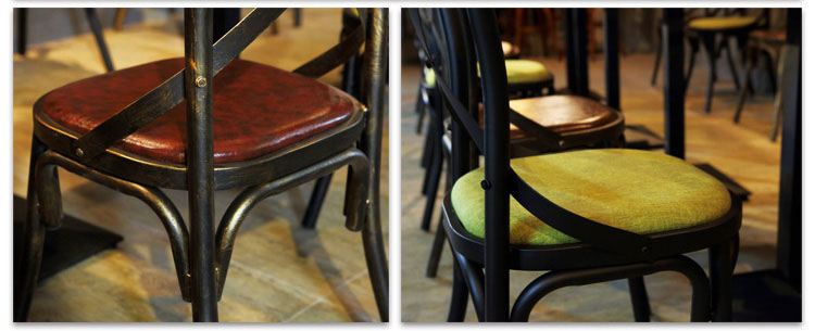 modern restaurant dining chairs