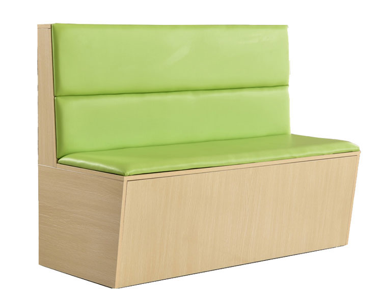upholstered banquette seating