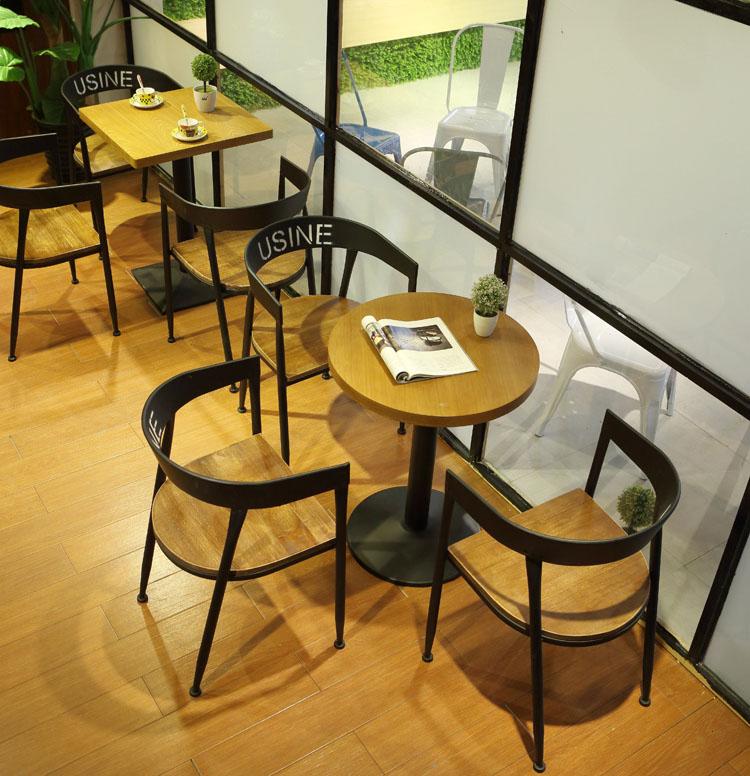 black restaurant chairs