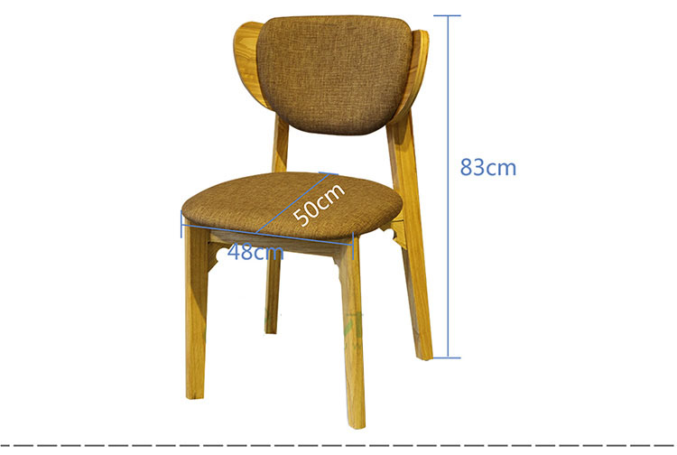 restaurant chair height