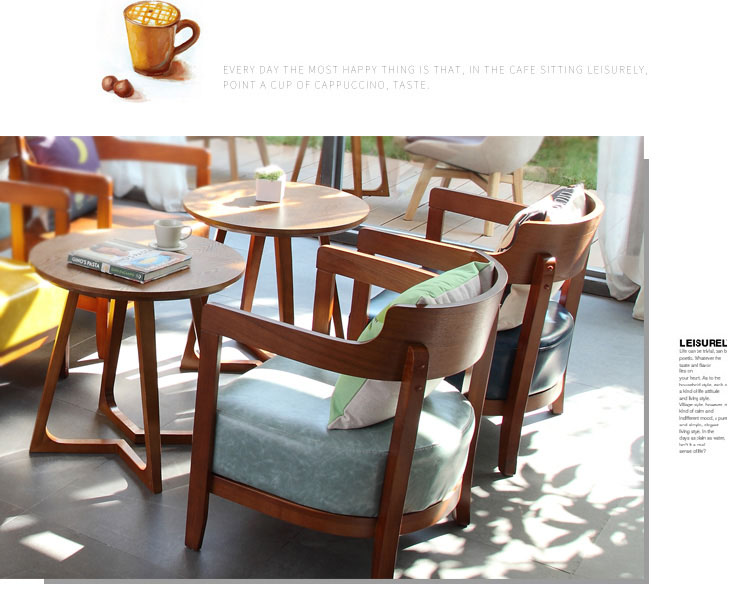 coffee shop style table and chairs