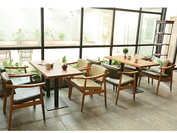 wooden cafe chairs