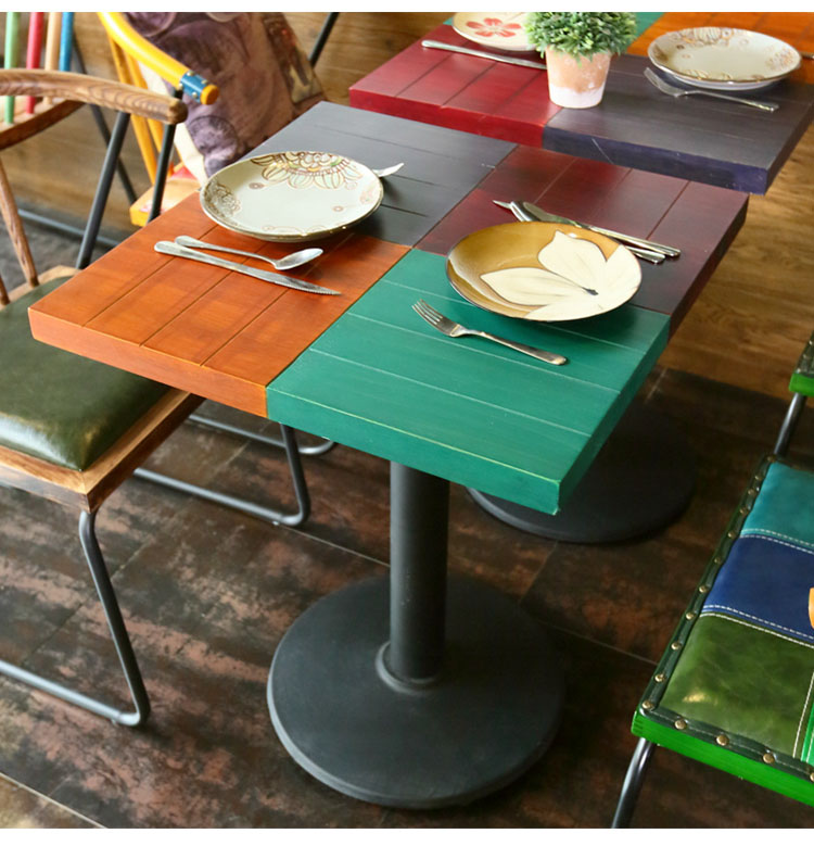 cafe shop table and chairs