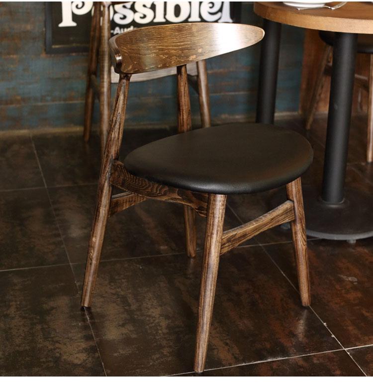 wooden cafe furniture