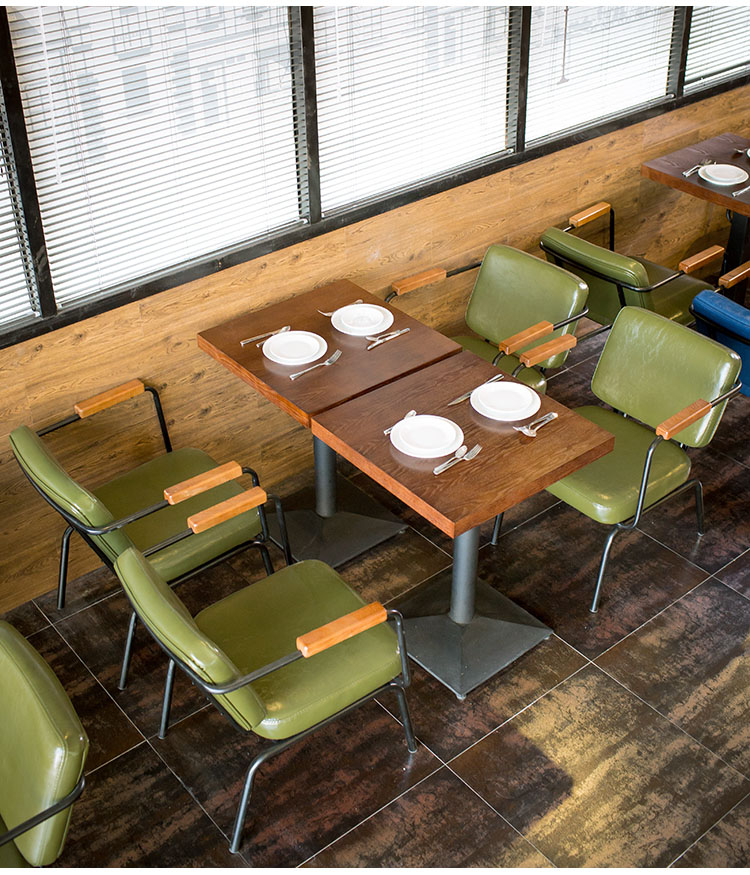 restaurant wooden tables and chairs