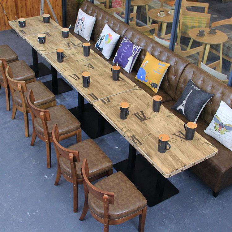 modern restaurant booth seating