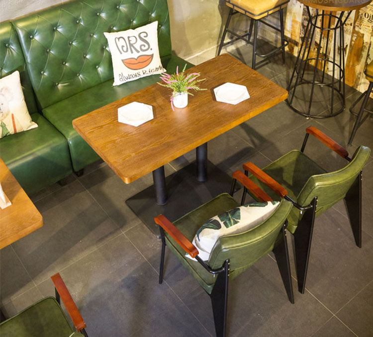 banquette seating detail