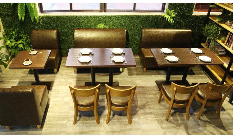 vintage banquette seating