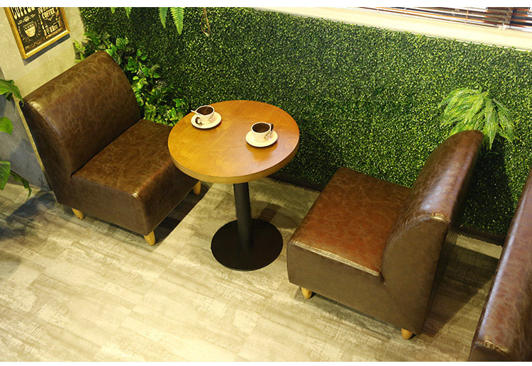 comfortable banquette seating