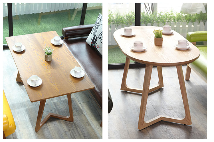 wooden table dining