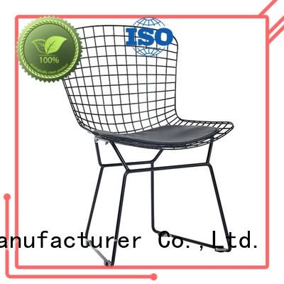 shop iron chair ShengYang restaurant furniture Brand metal kitchen chairs factory