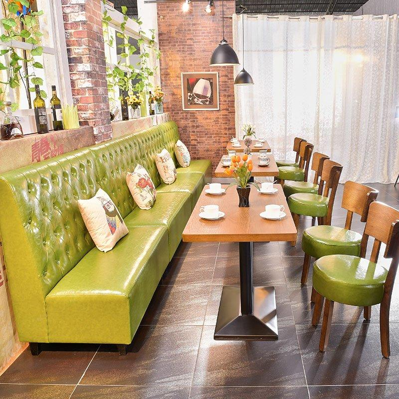 Modern Premium Quality Restaurant high back Booths And Table SE001-7