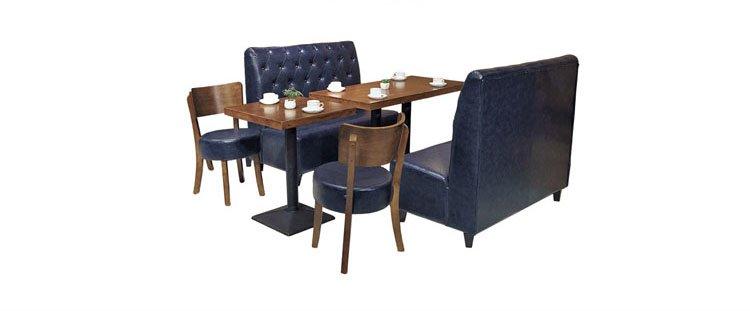 metal restaurant tables