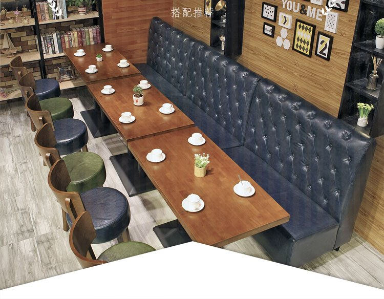 single booth seating