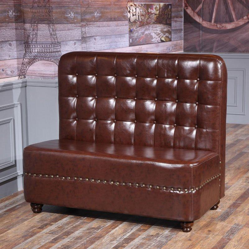Classical Durable Dining Hall Furniture Leisure Booths Sofa Chair SE001-32