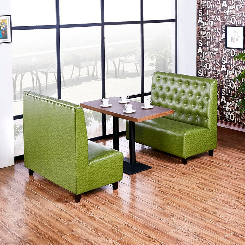 ShengYang restaurant furniture Commercial Design Catering Furniture Wood Table And Booth SE001-33 Table and Sofa Group image195