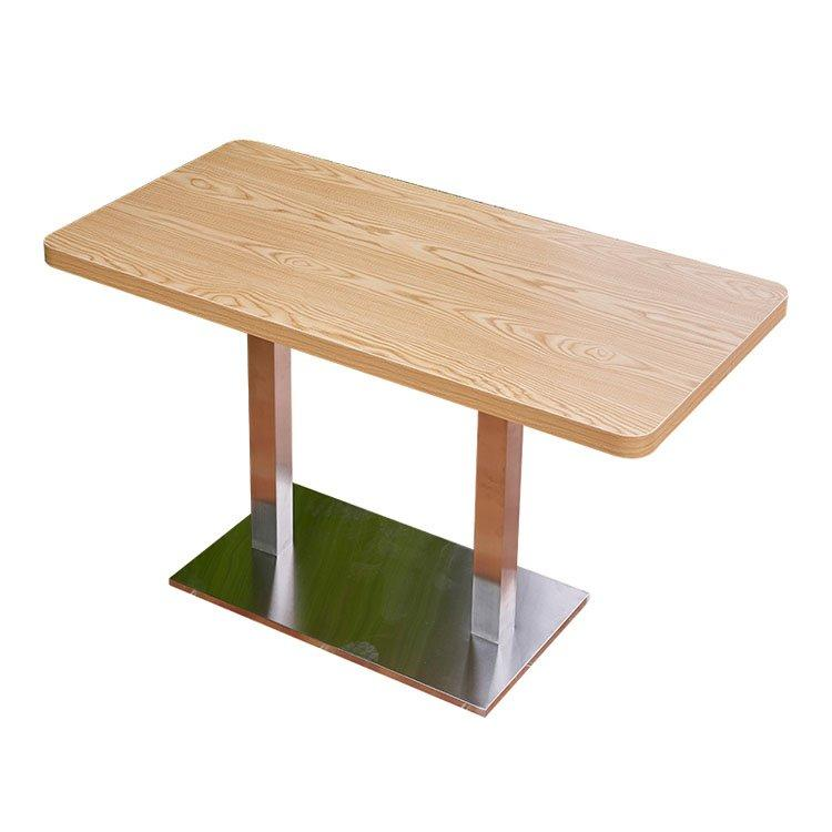 OEM booth dining table dining coffee restaurant furniture