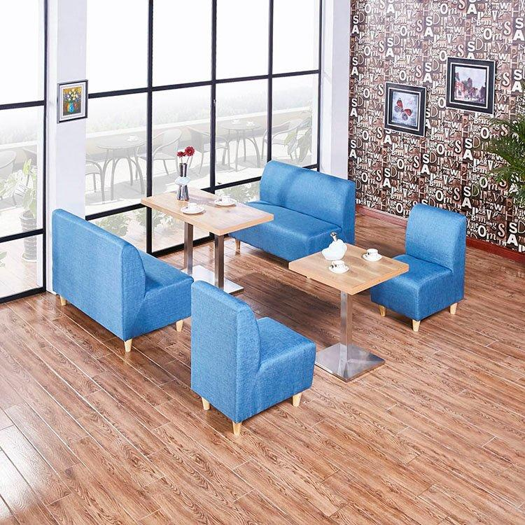 ShengYang booth dining table wood catering tables retro