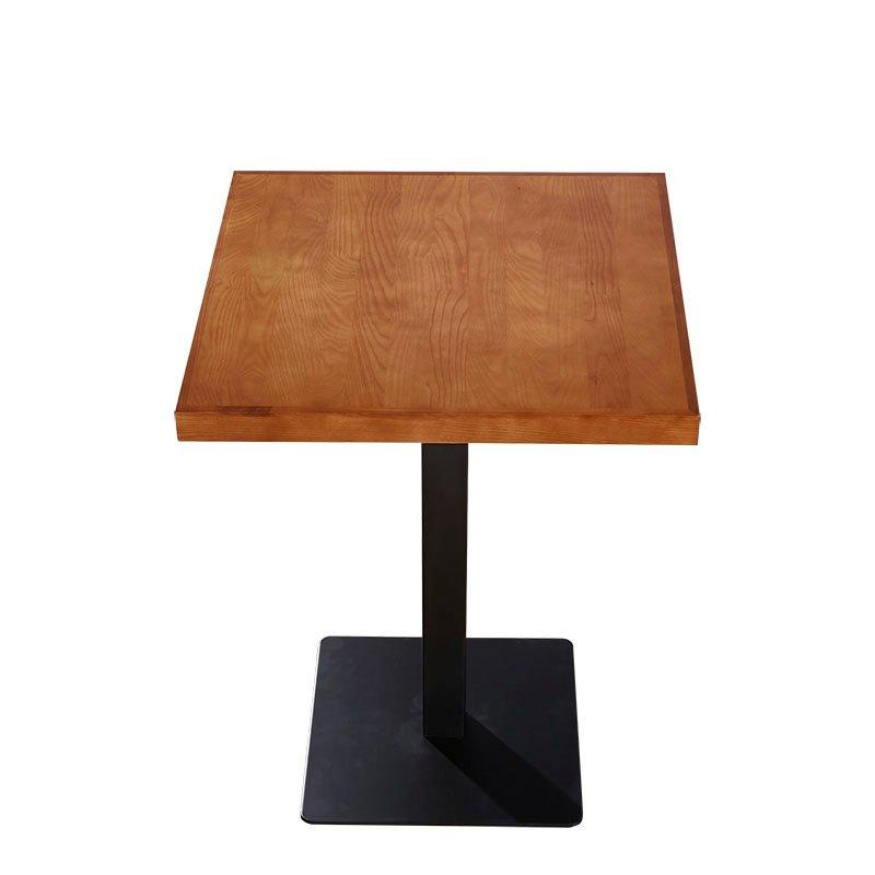 Contemporary Dining Table Fast Food Restaurant Square Table TB015