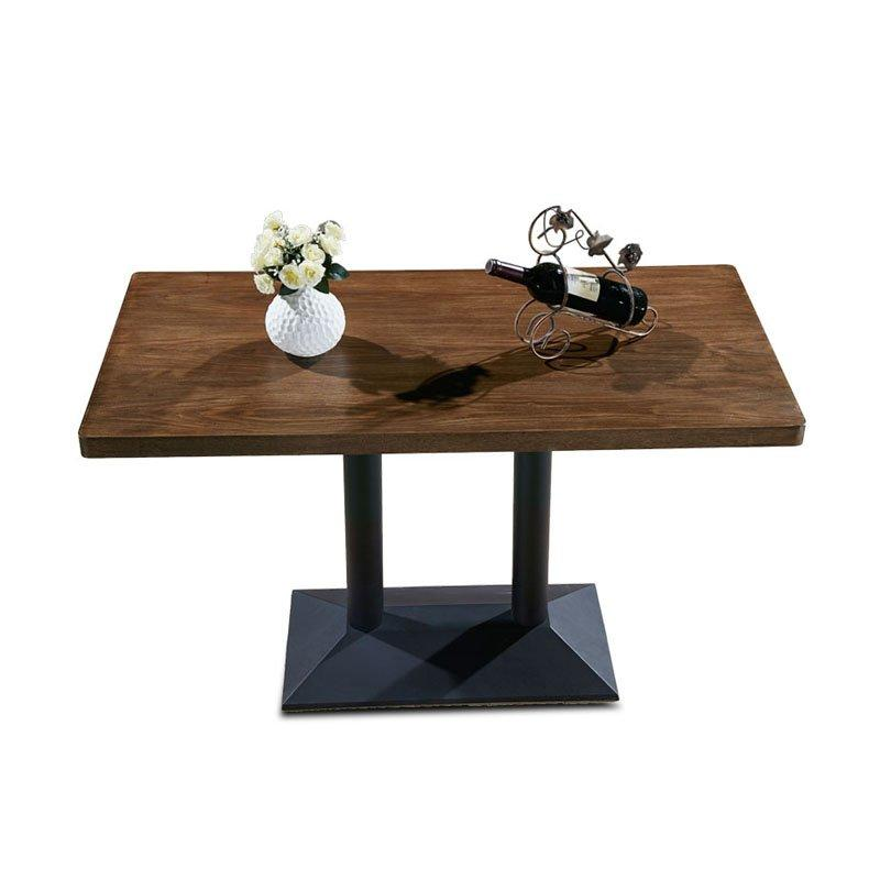 Modern Wooden Rectangular Table Customized Cafe Long Table TB016