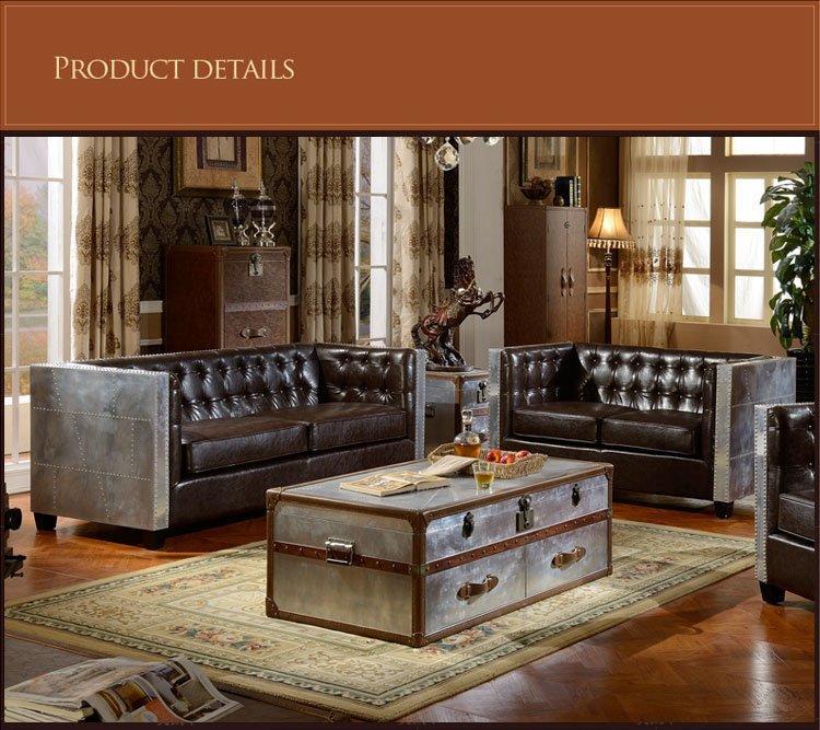 ShengYang design industrial sofa single american