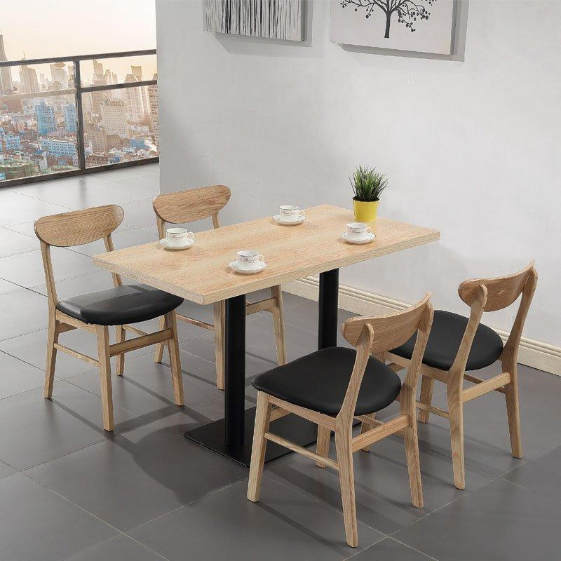Concise Style Fast Food Restaurant Catering Wooden Furniture GROUP2