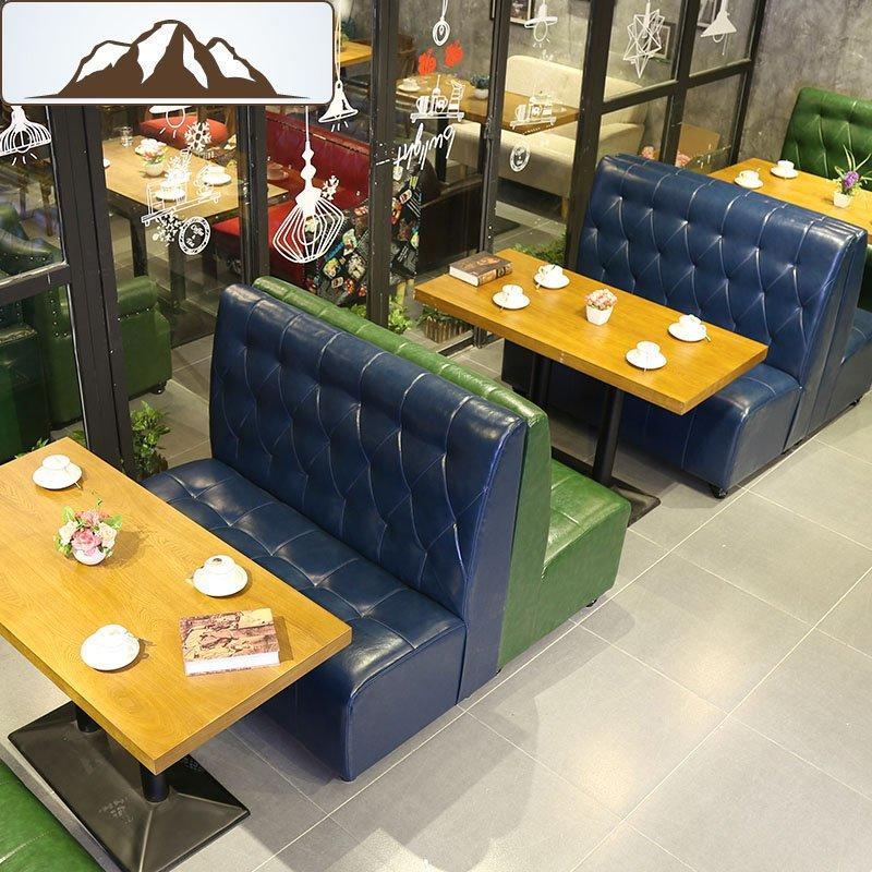 Concise Dessert Shop Dining Table And Booths KTV Customized Furniture SE001-20