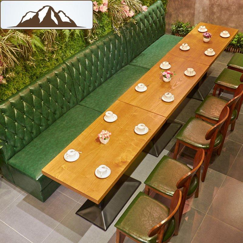 Modern Anti-abrasive Dining Table Set For Canteen And Lounge SE001-21