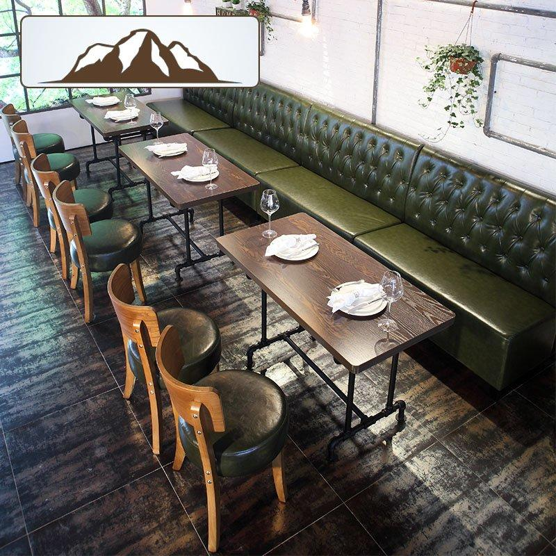 Contemporary Coffee House And Fast Food Restaurant Booth Seating SE001-24