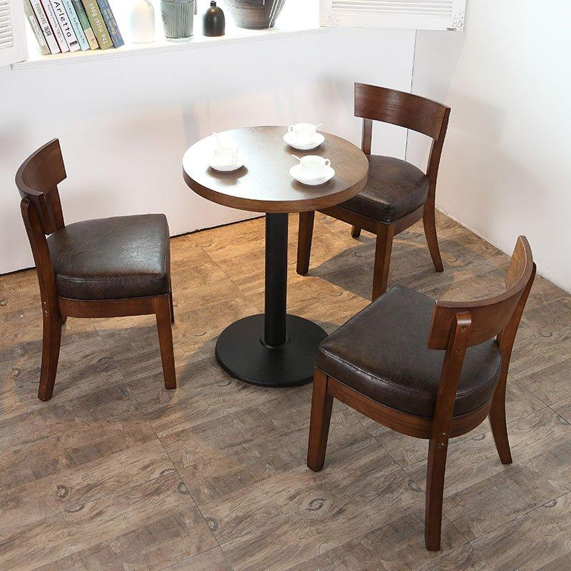 Retro Canteen Furniture Coffee House Booths And Table Set SE001-26