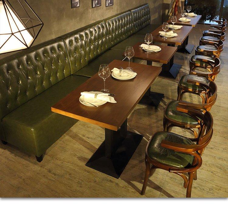 upholstered restaurant booths
