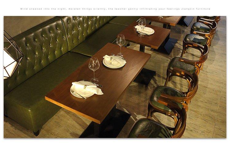 restaurant bench table