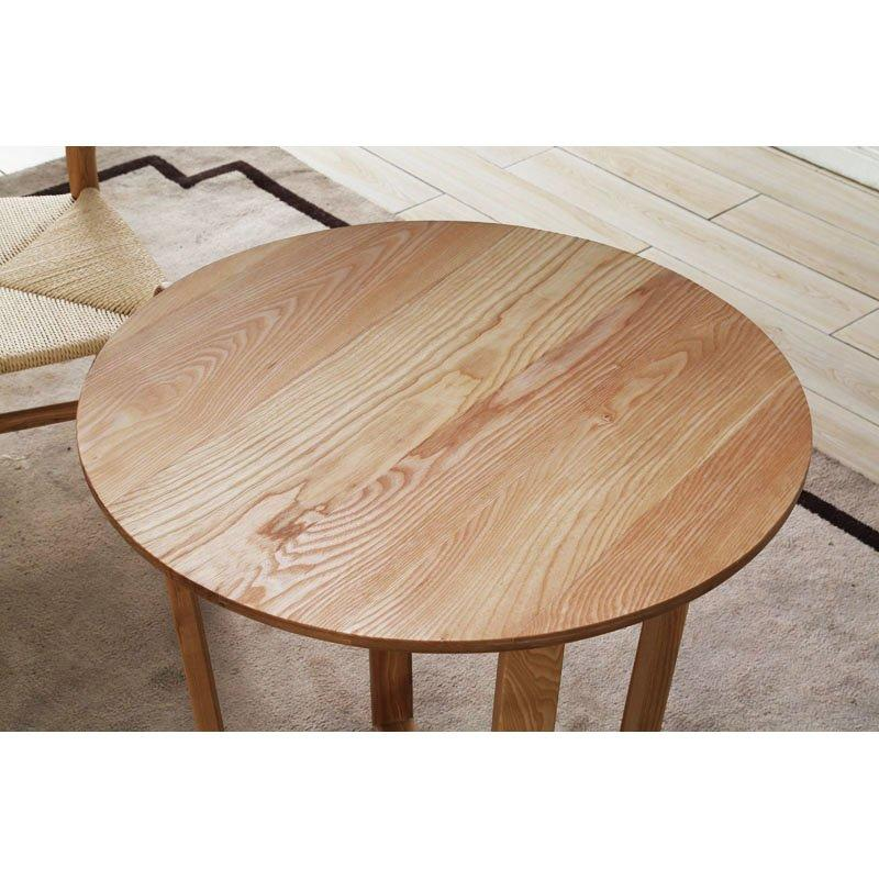Modern Fashion Round Coffee Table Wooden Tea Table DB001